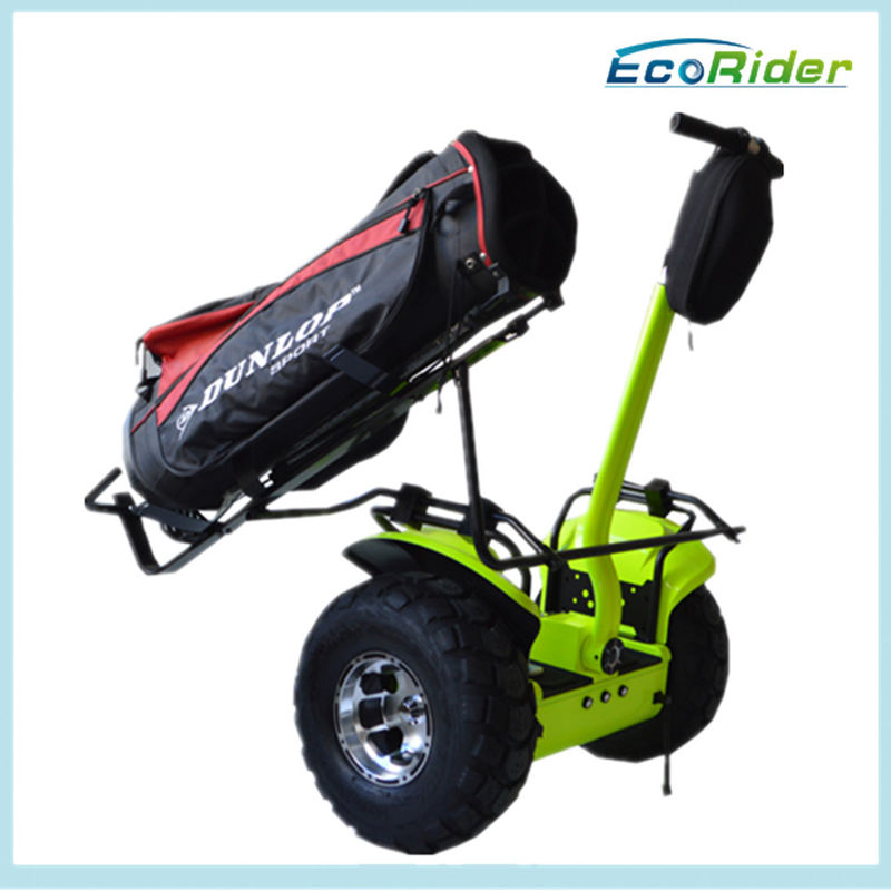 72V 2000W Power Two Wheel Personal Mobility Vehicle 19 Inch Tire For Golf Club