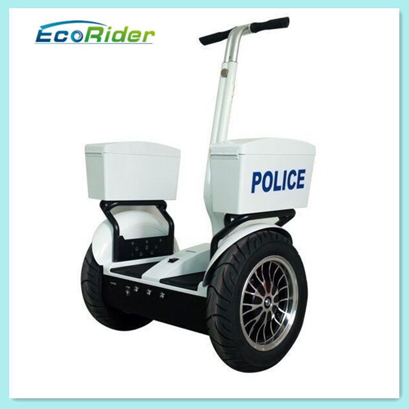 Two Wheel Electric Police Personal Transporter Scooter , Self Balancing Police Segway