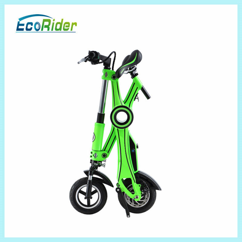 Promotional 250w Foldable Electric Scooter Front And Rear Disc Brake