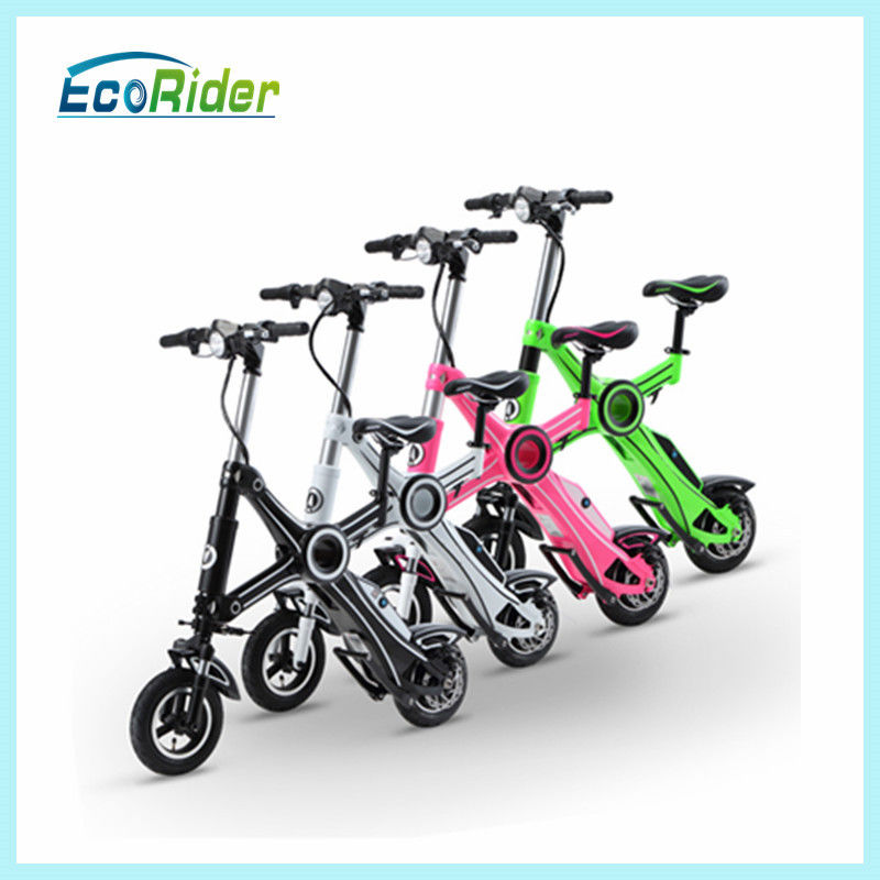 250w Folding Scooter For Adults With Brushless Gearless Motor