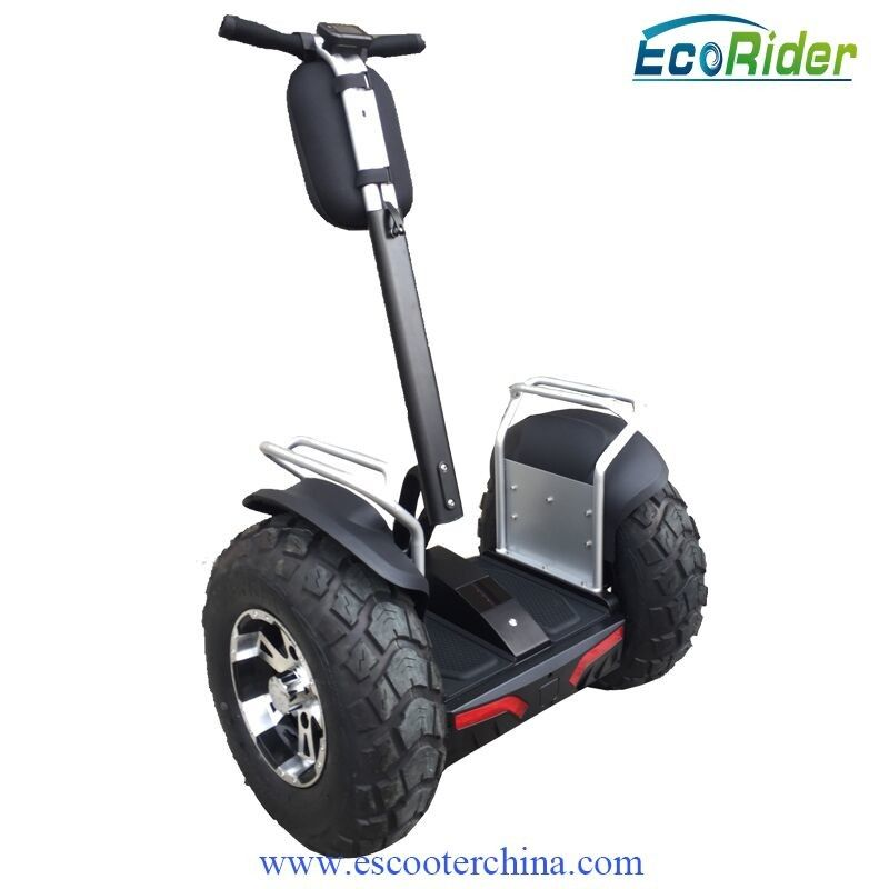 Two Wheels Balance Electric Scooter Mobile Controlled With 4000w Brushless Motor