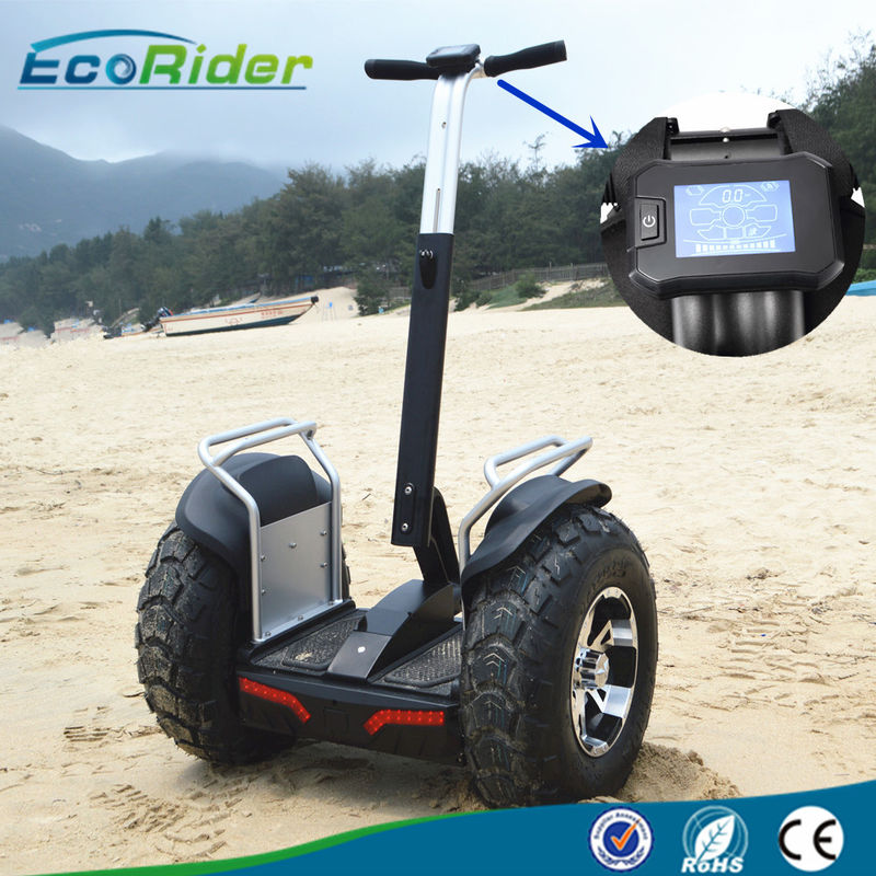 Off Road 2 Wheel Electric Scooter Outdoor With E8 4000W Brushless , 21 Inch Tire