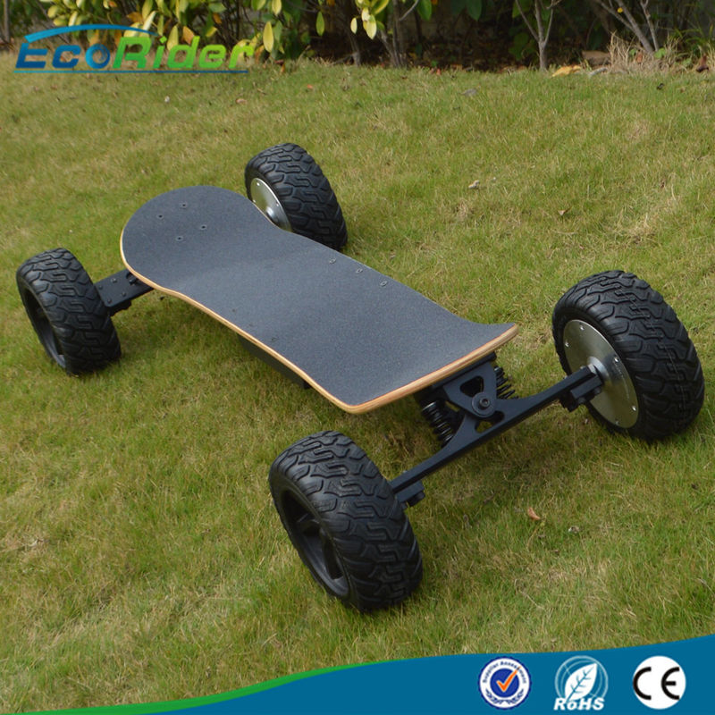 2000w 4 Wheels Brushless Electric Skateboard Boosted Off Road Bluetooth