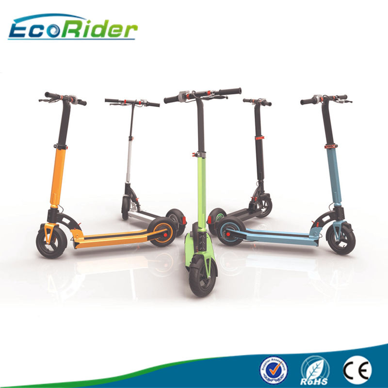 350Watt Ecorider Folding Two Wheel Electric Scooter , 36V 10.4Ah Battery