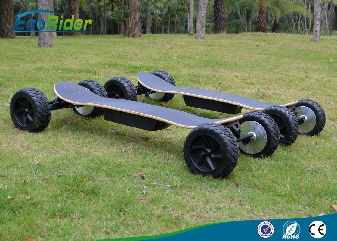 EcoRider 48V 11Ah Off Road Electric 4 Wheel Skateboard With Bluetooth