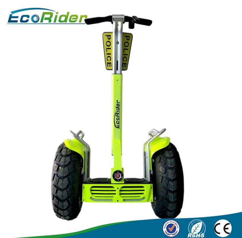 4000W Max Self Balancing Electric Scooter Segway Patroller With Police Shield