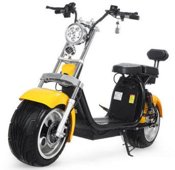 EcoRider 18inch Big Tire 60V 1500w 2 Wheel Electric Harly Scooter With Shock Absorber