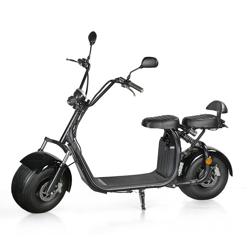 1500W 60V/20Ah 2 Wheel Electric Bike harely citycoco with removable Lithium Battery