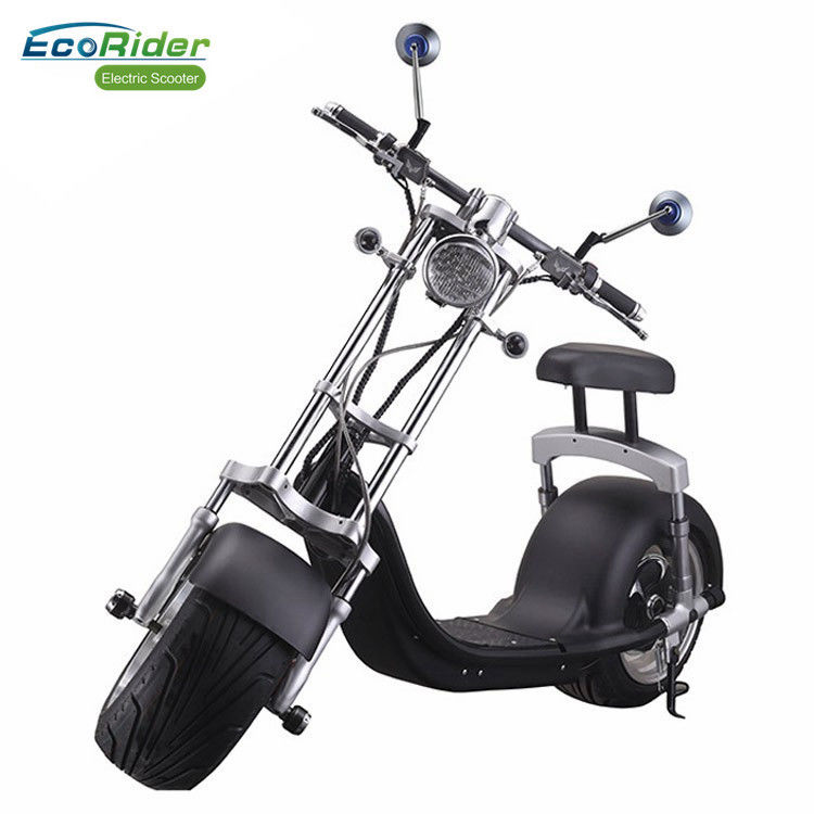 1200w 60v 12ah Balance Electric Scooter Citycoco Harley Scooter With Turning Lights