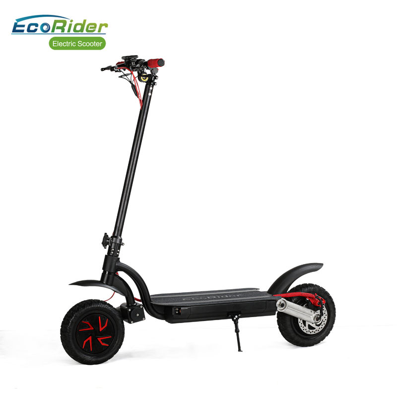 Adults Off Road Folding 2 Wheel Electric Scooter With 7005 Aluminium Alloy