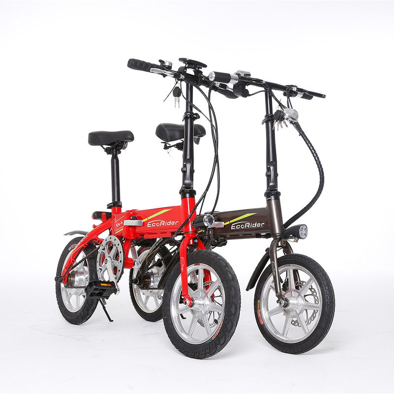 2 Wheel Mini Foldable Electric Scooter Lithium Battery 36V 7.8AH for Adult
