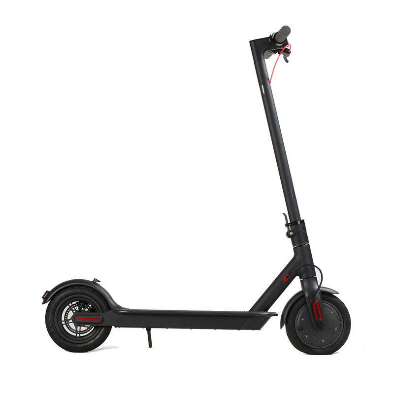 Adult Foldable Electric Scooter 8.5 Inch 2 Wheels Kick APP GPS For Sharing System