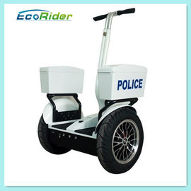 Two Wheel Polisi Listrik Personal Transporter Scooter, Self Balancing Polisi Segway