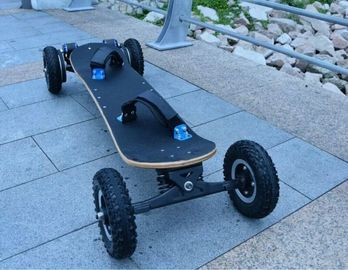 1800Watt Brushless Hoverboard Scooter, EcoRider Electric Skateboard Maple Deck