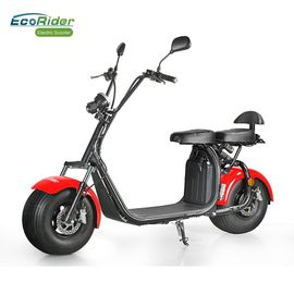 EcoRider Fat Tire 2 Wheel Electric Bicycle, On Off Road Eletric Scooter Dengan Remote