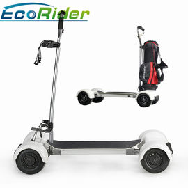 EcoRider Scooter Golf Bag Carrier 1000w Empat Roda 40-60KM Jarak Tempuh Brushless Motor DC